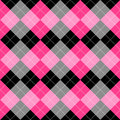 Seamless argyle pattern Royalty Free Stock Photo