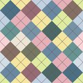 Seamless argyle sweater background see my other works portfolio Stock Photo