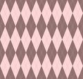 Seamless argyle vector pattern Royalty Free Stock Photo