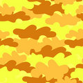 Seamless army camouflage Royalty Free Stock Images