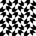 Seamless Arrow Pattern Royalty Free Stock Photo