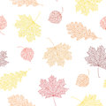 Seamless autumn pattern.