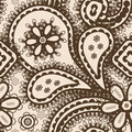 Seamless background with abstract ornament Royalty Free Stock Images