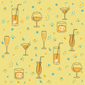 Seamless Background for Alcohol Production Stock Photos