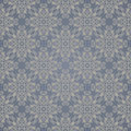 Seamless background of beige and blue color in the style damascus Royalty Free Stock Images