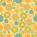 Seamless Background of Circles Royalty Free Stock Photos