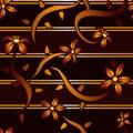 Mahogany Flower Background