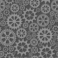 Seamless background with gears the wheels. Vector illustration.