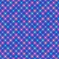 Seamless background with geometric pattern of squares with rounded corners.