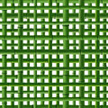 Seamless background of green bamboo grid square on white Royalty Free Stock Images