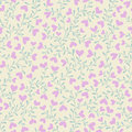 Seamless background with hearts Royalty Free Stock Images