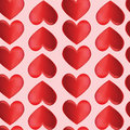 Seamless background with hearts by st valentine s day оrnament fragment Stock Photo