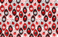 Seamless background with ladybirds Royalty Free Stock Photo