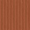Seamless background of mahogany planks vector illustration Royalty Free Stock Image