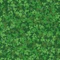 Seamless background maple leaves pattern of green Stock Photos