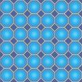 Seamless octagon and diamond pattern