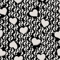 Seamless background pattern with hearts strokes and splashes Stock Photo