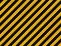 Seamless background pattern yellow black diagonal lines concrete wall Royalty Free Stock Image