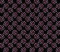 Seamless background with pink roses style