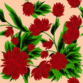 Seamless background with pions for your design it can be used in textiles Stock Images