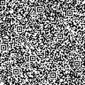 Seamless background with QR code pattern Royalty Free Stock Photo