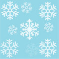 Seamless background snowflakes Patern Royalty Free Stock Photography