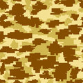 Seamless Background Square Camouflage Royalty Free Stock Photo
