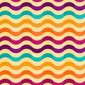 Seamless background with stripes in retro style vector Royalty Free Stock Photos