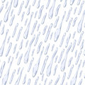 Seamless background with water drops Royalty Free Stock Photos