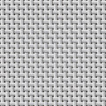 Seamless background  weaving ribbed metal wire. Royalty Free Stock Photo