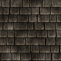 Seamless background of wooden roof Stock Images
