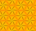 Seamless background with yellow triangles star Royalty Free Stock Photography