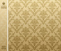 Seamless backgroung vintage beige Royalty Free Stock Image