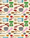 Seamless bake tool pattern Stock Photo