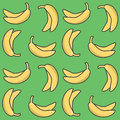 Seamless banana pattern
