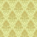 Seamless baroque wallpaper Stock Photography