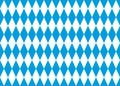 Seamless bavarian flag vector background