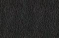 Seamless black leather texture