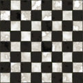 Seamless black and white checkered texture Royalty Free Stock Images