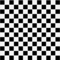 Seamless black and white checkered texture Royalty Free Stock Photos