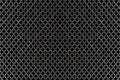 Seamless black and white geometric netting pattern the Royalty Free Stock Photo