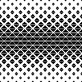 Seamless black and white triangle pattern