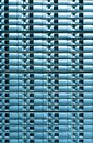 Seamless blue background of server disk storage. Stock Image
