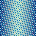 Seamless Blue Diagonal Pattern Royalty Free Stock Photo