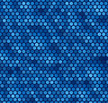 Seamless Blue Dot Pattern Royalty Free Stock Image