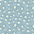 Seamless blue flowers background Royalty Free Stock Photo