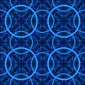 Seamless. Blue fractal background Royalty Free Stock Photo