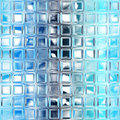 Seamless blue glass tiles texture Royalty Free Stock Images