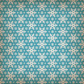 Seamless blue pattern with snowflakes. Royalty Free Stock Photo