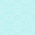 Seamless blue pattern with white swirls christmas Royalty Free Stock Photography